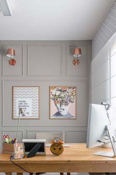 Most Popular Modern Home Office Design Ideas For Inspiration - Modern Interior Design Modern Home Offices, Modern Office Decor, Home Office Design, Home Office Decor, Home Decor Bedroom, Office Ideas, Office Designs, Office Furniture, Furniture Ideas