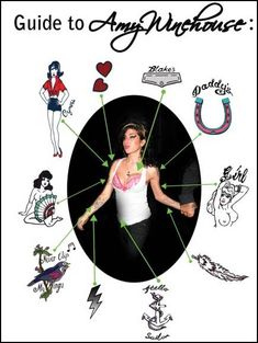 Amy Winehouse tattoo guide
