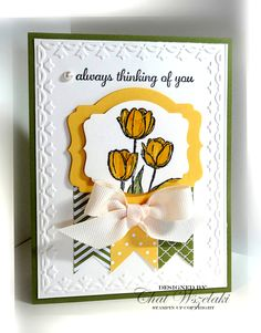 Stampin' Up! Card Blessed Easter by Me, My Stamps and I,  Stampin' Up