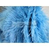 Sky Blue/Baby Blue Ostrich Feathers 10-12 inch 100 Pieces