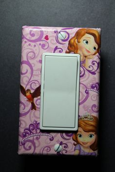 Sofia the First Disney Jr Rocker Light Switch by ComicRecycled, $9.99 Disney Jr, Disney Junior, Little Girl Rooms, Little Girls, Sofia The First Room, Girls Bedroom, Bedroom Ideas, Princess Room, Everything Baby