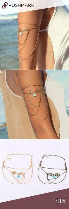 Arm Bracelets - Silver/Gold - OS  Arm Bracelets - Silver/Gold - OS Jewelry Bracelets