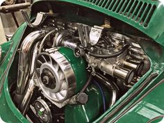 Nice engine bay . . . power upgrade - Classic VW Bug