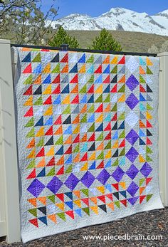 Made by me. Milky Way pattern by Karen Montgomery and Color ... : karen montgomery quilt patterns - Adamdwight.com
