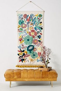 Home Decor Accessories 664351382519022507 - 8 Fall Home Design Trends to Love from Anthropologie – Chic+Fab+Love – Colorful tapestry with boho charm Home Design, Decor Interior Design, Interior Decorating, Simple Interior, Luxury Interior, Wall Design, Home Decor Accessories, Decorative Accessories, Handmade Home Decor