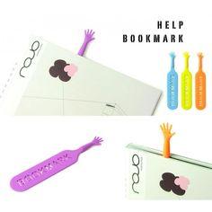 Punto de libro divertido - Help!