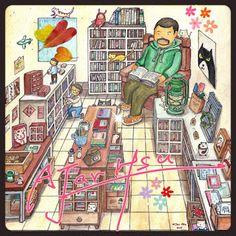 Taiwan's bookstore#2 Illustration 2015 | AJar Hsu | 徐佳伶