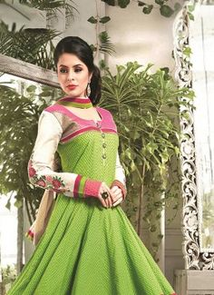 Gorgonize Chanderi Cotton Green Readymade Suit #green #creem #salwarsuit #bridal wear#jardoshi #work #chiffon #acteress #navel #desi #new #woman fashion #designersuit #bridal wear #glamour #quality #pakistanifashion #fashioninsta #wedding #wedding inspiration #loveself #ethnic wear #lastweekend #nice #mehendi #zirba #asianfashion #