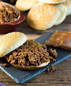 Homemade Sloppy Joes - Better Than Manwich - Fox Valley Foodie Elk Recipes, Roast Beef Recipes, Beef Recipes For Dinner, Copycat Recipes, Vegetable Stew Slow Cooker, Slow Cooker Beef, Roast Recipe Easy, Joe Recipe, Homemade Sloppy Joes