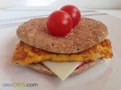 Cenas fáciles I: sándwich de tortilla de tomates con queso - La dieta ALEA - blog de nutrición y dietética, trucos para adelgazar, recetas para adelgazar