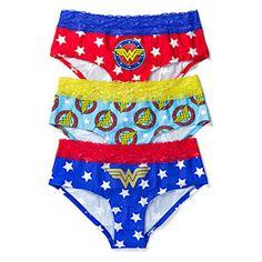 Wonder Woman 3-Pack Panties