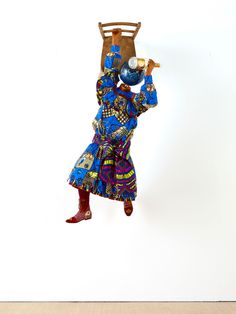 yinka shonibare MBE: champagne kids at pearl lam galleries - designboom | architecture & design magazine