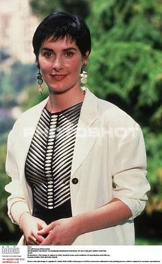 Where would Enya be at this point in her career without the dangly seahorse earrings? (photo by George Bodnar)