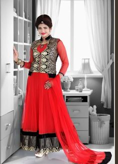 495130acc39 I found this beautiful design on Mirraw.com Indian Salwar Suit