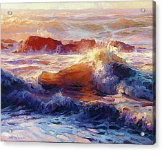 Opalescent Sea Acrylic Print