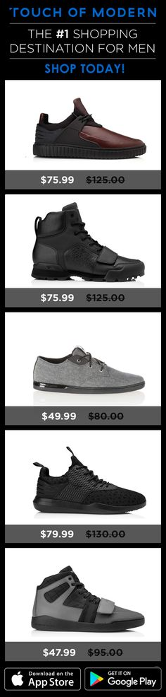 The #1 shopping destination for men Discover something new today>