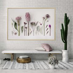[New] The 10 Best Home Decor Today (with Pictures) - Vibrant botanicals and clean interiors This print is available in sizes and in the online shop but should you want a custom size I can help with that too! Botanical Wall Art, Floral Wall Art, Botanical Prints, Botanical Decor, South African Decor, South African Design, Art Prints For Home, Home Art, Wall Art Prints