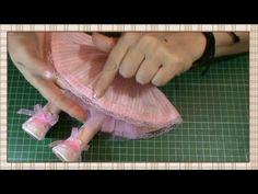Tutorial muñeca rusa: Vestido - YouTube