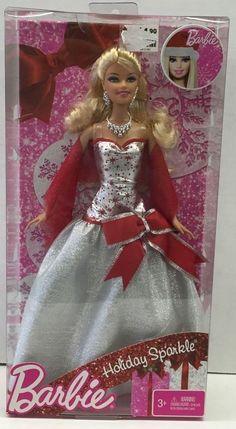 2010 Mattel Barbie Holiday Sparkle! New In Box! #Mattel #DollswithClothingAccessories
