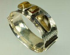 alter Armreif Handarbeit Finnland Design , TOP erhaltener Silberschmuck 1963