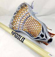 Brine RP3 with a golden mesh and a Limited Edition Rabil gold shaft.