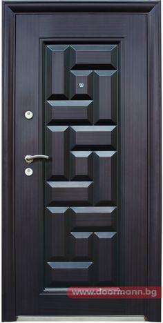 Блиндирана входна врата - Код 602