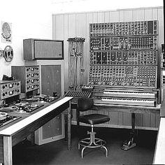 The original R.A. Moog studio.