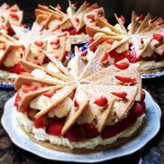 Fresh Strawberry Shortcake   Ballymaloe House Hotel East Cork Ireland