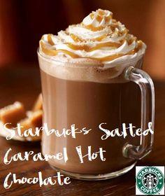 "DIY ""Starbucks"" Salted Caramel Hot Chocolate Recipe"