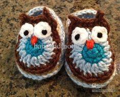 Wholesale Baby Crochet - Buy Baby Crochet Shoes Baby Booties Crochet Pattern Handmade Ballet Slipper Toddler Crochet Prewalkers Free Shippin...