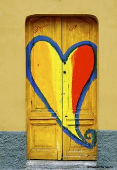 yellow heart #doors