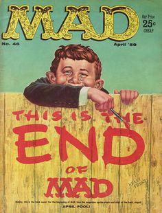 Mad Magazine. No. 46. Apr '59.
