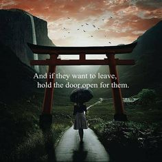 And if they want to leave..