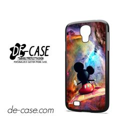 Mickey Mouse Flying With Carpet DEAL-7204 Samsung Phonecase Cover For Samsung Galaxy S4 / S4 Mini