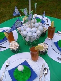 Golf Theme Party
