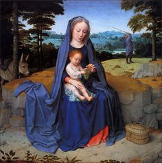 Gerard David: The Rest on the Flight into Egypt (ca. 1510)