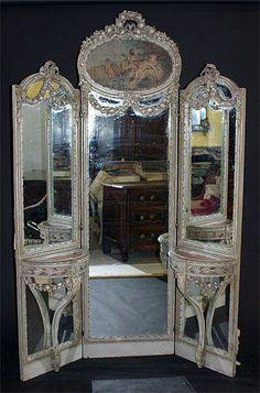 Triple Full Vanity Mirrors