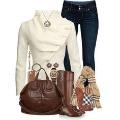 """""""Brown"""" by berenicebt on Polyvore"""