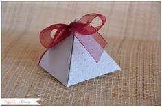 Confirmation - Cresima - PaperNova Design bomboniere inviti pyramid box
