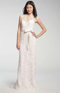 theia-lace-overlay-cap-gown-wedding-dress-376126-0-0.jpg (626×960)