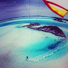 Wind surfing #Sea Ocean Vacation Inspiration Summer