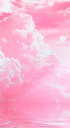 wall art / Wall paper pink pastel sky Ideas for 2019 Pastel Sky, Pink Aesthetic, Aesthetic Wallpapers, Clouds, Wall Art, Abstract, Artwork, Ideas, Art Work