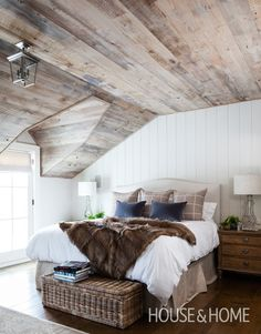 Cosy Bedroom   House & Home