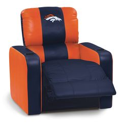 Home Theater Seating - Home Theater Furniture Denver Broncos Football, Go Broncos, Broncos Fans, Football Memes, Football Season, Bronco Car, Bronco Sports, Nfl, Home Theater Furniture