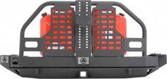 Smittybilt XRC Rear Atlas Bumper and Tire Carrier for 07-16 Jeep® Wrangler & Wrangler Unlimited JK | Quadratec