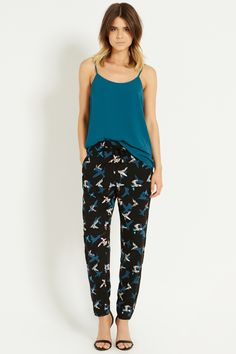 Peter Ting Soft Trouser | Multi | Oasis Stores