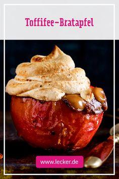 Bratapfel Toffeewunder – der beste EVER! Mit wird er zum le… Baked apple toffee wonders – the best apple EVER! With he becomes legendary Baked Apple Dessert, Apple Dessert Recipes, Easy Desserts, Appetizer Recipes, Baking Recipes, Toffee, Baked Apples, Christmas Desserts, Bread Baking