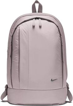 Keep your day neatly organized with this Nike Legend backpack, a roomy carryall with three compartments that organize your essentials. A padded back and breatha Nike School Backpacks, Girly Backpacks, Cute Backpacks For School, Stylish Backpacks, Backpack Purse, Black Backpack, Mochila Nike, Moda Nike, Backpack Organization