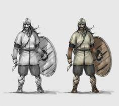 ARNIE JORGENSEN - The Banner Saga: Backbiter concept