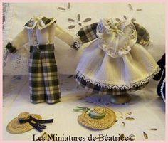 Petits costumes écossais